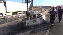 Edirne Polis Okulu Öğrencisi Trafik Kazasında Yanarak Öldü