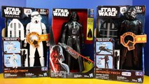 Star Wars Darth Vader Gets Interech Rogue One Shadow Trooper And Storm Trooper With Light Saber