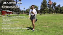[Golf with Aimee] Q&A with Aimee 004: Difference between Driver, Fairway Woods & Irons?