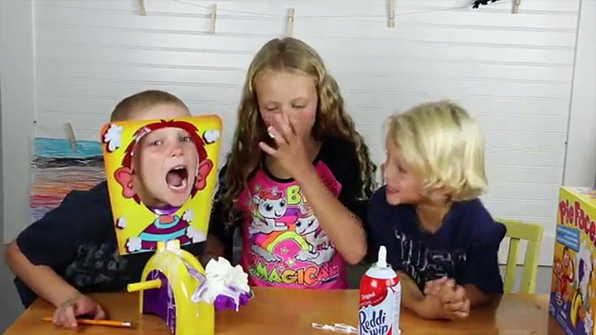 PIE FACE - THE FUNNIEST GAME FOR KIDS
