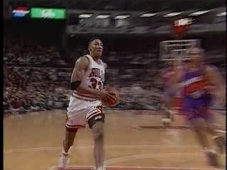 NBA Scottie Pippen Highlights