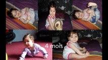 Lévolution dun bébé (pressé) de la naissance (0) à 12 mois! (bébé parle à 3 mois)