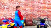 McDonalds Drive Thru Prank giant food + McDonalds Indoor Playground Bad Baby Joker in Real Life