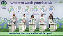 Global Handwash day - Handwashing steps video