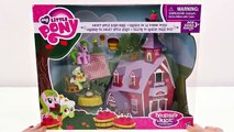 My Little Pony Sweet Apple Acorn Barn Play Doh Disney Princess Magiclip Doll Snow White