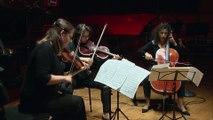 Beethoven | Trio à cordes n° 5 en ut mineur op. 9 n° 3 : I Allegro con spirito - II Adagio con espressione - III Scherzo - IV Finale par Elina Buksha, Hélène Desaint et Astrig Siranossian