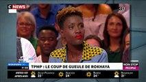 """Faut-il instaurer des quotas de """"minorités visibles"""" à la télévision ? Rokhaya Diallo répond dans """"Morandini Live"""" - VID"""
