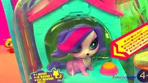 Disney LPS Littlest Pet Shop Zoe Trent waggin tails fuzzy tails dog pet toy cat toy DisneyToysReview