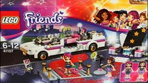 Lego Friends Summer new Pop Star Limo Set 41107 Review