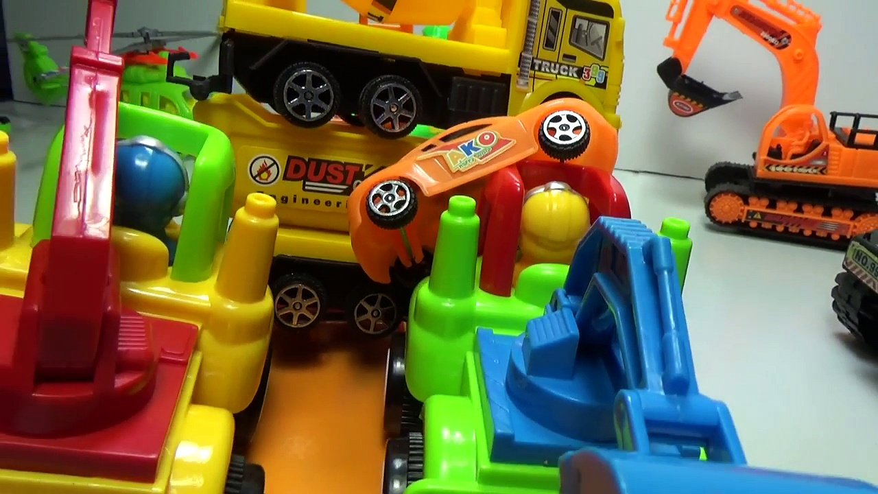 Baby Studio – trucks transport trucks | trucks toy | cars toy