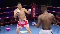 Võ sĩ Trung Quốc chơi chiêu ăn vạ bị đối thủ đánh cho thê thảm