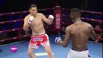 Võ sĩ Trung Quốc chơi chiêu ăn vạ bị đánh đối thủ đánh cho thê thảm