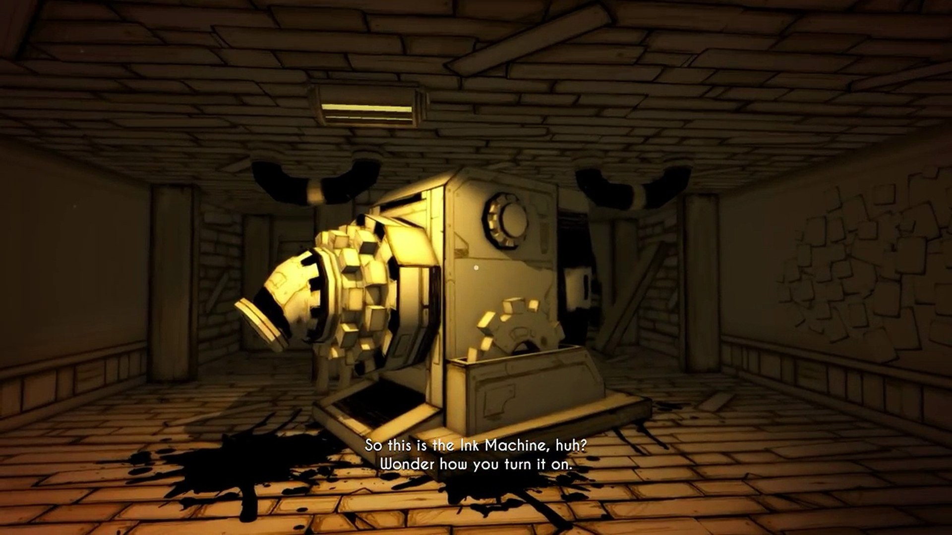 Bendy And The Ink Machine Chapter 3 Boris The Wolf Is Evil