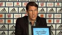 """OM : """"Sans la Ligue des champions, on ne pourra pas attirer des top joueurs"""" (Garcia)"""