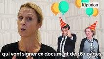Code du travail : Muriel Pénicaud et Emmanuel Macron signent les ordonnances en Conseil des ministres