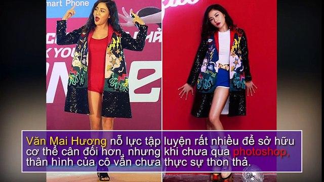 Loạt ảnh không photoshop chứng minh vóc dáng chưa hoàn hảo của mỹ nhân Việt