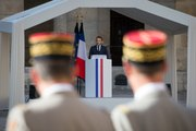 Discours du Président de la république, Emmanuel Macron, lors de l'hommage national de Fred Moore aux invalide
