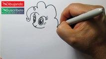 Cómo Dibujar a Pinkie Pie - How To Draw Pinkie Pie My Little Pony | Dibujando