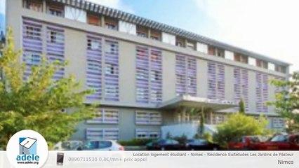Location logement étudiant - Nimes - Résidence Suitétudes Les Jardins de Pasteur