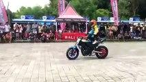 Amazing Bike stunts by 11 yr old kid | Yamaha Bike stunts 2017 | Wahyu Nugroho From Indonesia