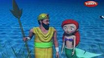 The Little Mermaid 3D Story | 3D Fairy Tales in Gujarati for Kids | Gujarati Fairy Tales