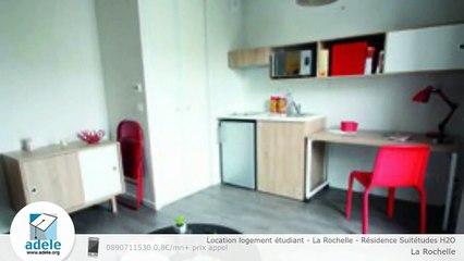 Location logement étudiant - La Rochelle - Résidence Suitétudes H2O
