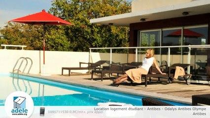 Location logement étudiant - Antibes - Odalys Antibes Olympe