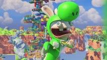 Mario + The Lapins Crétins Kingdom Battle - Présentation de Lapin Yoshi