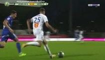 Bourg Peronnas 2-1 Le Havre But Jean-Philippe Mateta - 22.09.2017