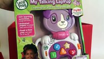 Quick Snippet Review: LeapFrog My Talking LapPup Violet, Baby Laptop