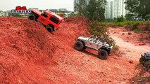 RC Trucks RCmodelex Defender 110 AEV Jeep Brute TF2 hilux Scale RC Trucks Offroad Adventures
