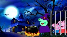 ❤ PEPPA PIG ❤ George Crying kidneping Witch vs Dinosaur new Parody Finger Family Rhymes and More