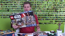 2016 LEGO Star Wars The Force Awakens Battle On Takodana Review : LEGO 75139