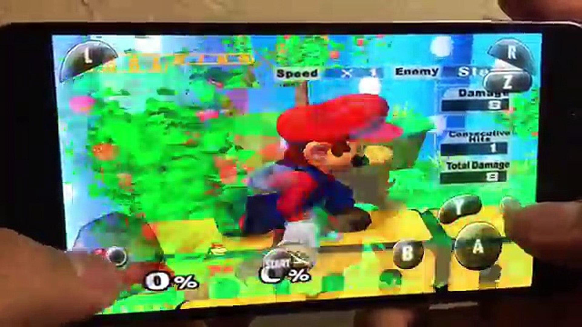super smash bros brawl apk emulator