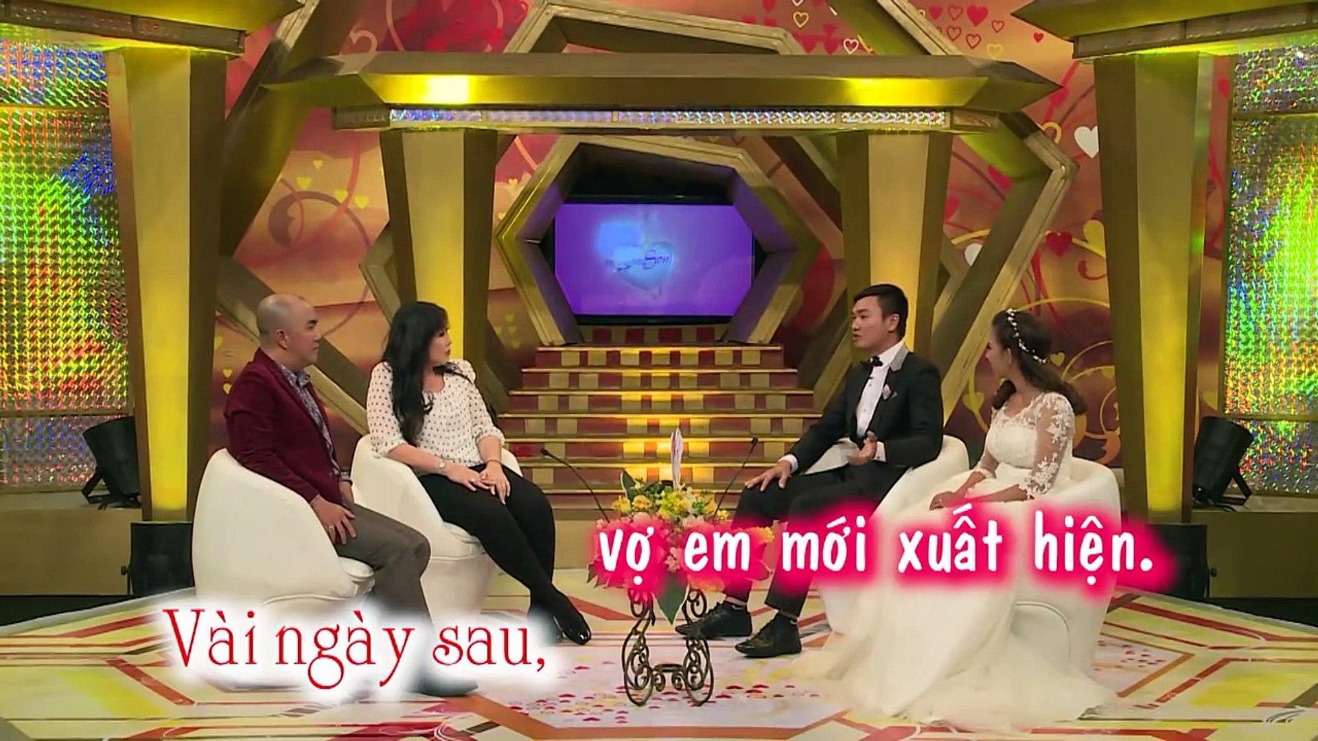 Vợ khóc nức nở vì chồng ... vô tâm - Huy Toàn và Tuyết Nhung | Vợ Chồng Son | tập 95 | 150531