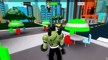BEN 10 Becoming Pennywise *IT Clown* in ROBLOX (Ben 10 Arrival of Aliens)