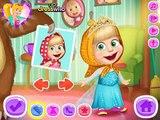 Masha Cô bé siêu quậy và chú gấu xiếc: Masha mặc thử váy các cô công chúa Disney