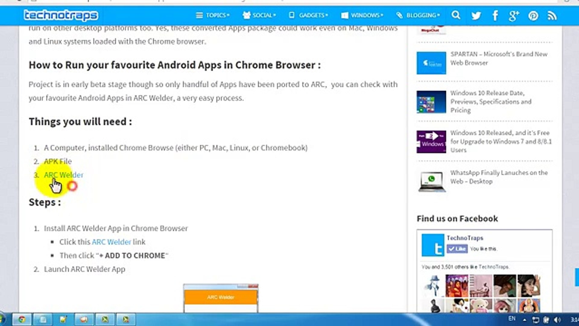 How to Run Android Apps in Chrome Browser Using ARC Welder