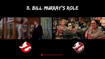 24 Reasons Ghostbusters 1984 & Ghostbusters 2016 Are Different #Ghostbusters