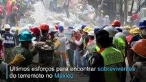 Fisioterapeutas ajudam socorristas e voluntários no México