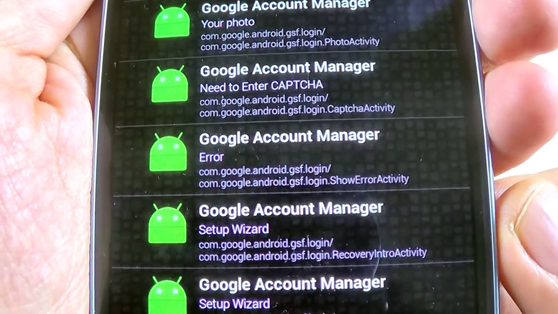 Bypass ERROR in Type Email and Password on Google Account Manager   Remove  FRP on Samsung