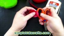 How to make REALISTIC PAPER ROSES with crepe paper - Paper Craft - EP 366 - simplekidscrafts