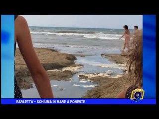 Barletta   Schiuma in mare a Ponente