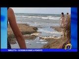 Barletta | Schiuma in mare a Ponente
