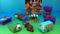 SCOOBY-DOO MCDONALDS EUROPEAN IMPORT HAPPY MEAL TOY COLLECTION