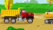 Carros para niños - Excavadoras - Camión y el Coche - La Grande Excavadora