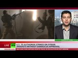 'US strikes, intervention against ISIS in Syria could turn against army'