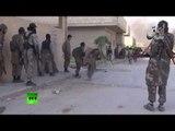 Kobani combat video: ISIS jihadists filmed in street-fighting shootout