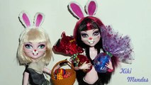 How to make doll Bunny Ears - miniature crafts DIY