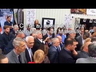 VIDEO. La Corse au coeur de la foire internationale de Marseille